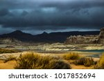 lone rock beach lake powell in... | Shutterstock . vector #1017852694