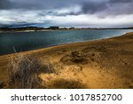 lone rock beach lake powell in... | Shutterstock . vector #1017852700