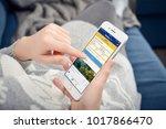 kyiv  ukraine   january 24 ... | Shutterstock . vector #1017866470