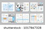 brochure creative design.... | Shutterstock .eps vector #1017867328