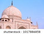 taj mahal close | Shutterstock . vector #1017886858
