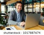 great mood for working good....   Shutterstock . vector #1017887674
