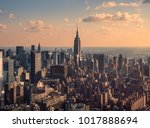 new york  usa  december 25 ... | Shutterstock . vector #1017888694