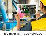 industrial 4.0   augmented... | Shutterstock . vector #1017890200