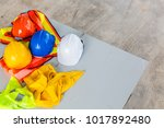 white  orange  yellow and blue... | Shutterstock . vector #1017892480