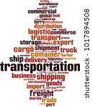 transportation word cloud... | Shutterstock .eps vector #1017894508