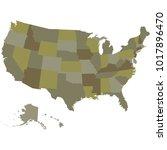 map of usa   Shutterstock .eps vector #1017896470