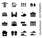 origami style icon set  ... | Shutterstock .eps vector #1017896890