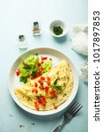 Homemade French Omelette With...