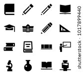 origami style icon set   book... | Shutterstock .eps vector #1017899440