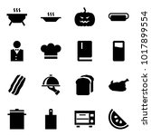 origami style icon set   bbq...   Shutterstock .eps vector #1017899554