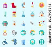 icons about medical with... | Shutterstock .eps vector #1017905398