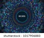 big data information vector... | Shutterstock .eps vector #1017906883