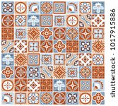 classic vector pattern of...   Shutterstock .eps vector #1017915886