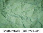 wrinkled linen fabric... | Shutterstock . vector #1017921634