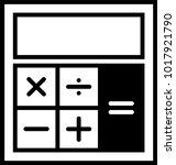 calculator icon  calculator... | Shutterstock .eps vector #1017921790