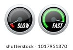 credit score indicator or fast... | Shutterstock .eps vector #1017951370