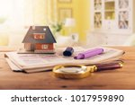 searching new house in... | Shutterstock . vector #1017959890