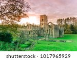 Fountains Abbey In Ripon  North ...
