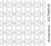 seamless geometric ornamental... | Shutterstock .eps vector #1017968140