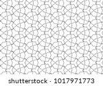 ornamental vector pattern ... | Shutterstock .eps vector #1017971773