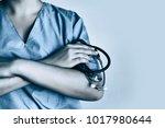 medicine doctor at the hospital | Shutterstock . vector #1017980644