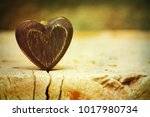 valentines hearts background | Shutterstock . vector #1017980734