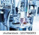 robotic machine tool in... | Shutterstock . vector #1017980893