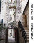 old town of kotor  montenegro   Shutterstock . vector #1017985189