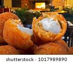 delicious brazilian snack | Shutterstock . vector #1017989890