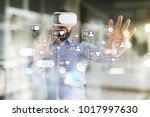 smm  likes  followers and...   Shutterstock . vector #1017997630