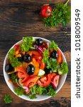 Vegetable Salad With Fresh...