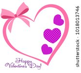 greeting card with st.... | Shutterstock .eps vector #1018013746