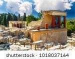 Knossos Palace At Crete....
