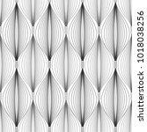 linear pattern mesh  mosaic ... | Shutterstock .eps vector #1018038256