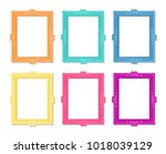 decorative vector template... | Shutterstock .eps vector #1018039129