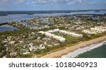 aerial view of johns island in... | Shutterstock . vector #1018040923