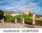 cityscape of messina  sicily ...   Shutterstock . vector #1018041820