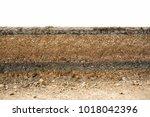 underground road layer asphalt... | Shutterstock . vector #1018042396
