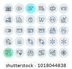 cryptocurrency icons collection.... | Shutterstock .eps vector #1018044838