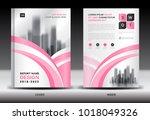 annual report cover design ... | Shutterstock .eps vector #1018049326