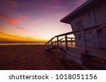 Lifeguard Hut In Santa Monica...