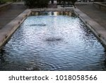 Large Fountain In Public Park...