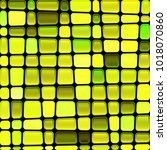 abstract vector stained glass... | Shutterstock .eps vector #1018070860