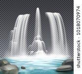 Cascade Fountain Waterworks...