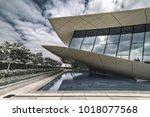 union museum  etihad  dubai ... | Shutterstock . vector #1018077568