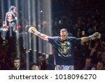 27.01.2018. riga latvia. at... | Shutterstock . vector #1018096270