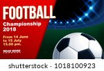 football 2018 world... | Shutterstock .eps vector #1018100923