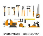 vector illustration. set tools...