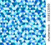 seamless triangle pattern....   Shutterstock .eps vector #1018112050